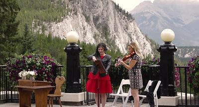 Banff Springs Wedding