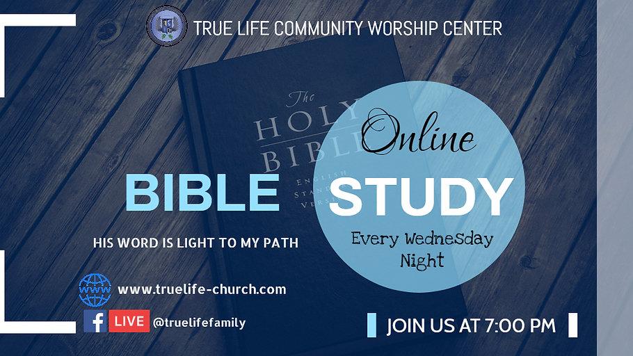 Bible Study ~ 4/28/21