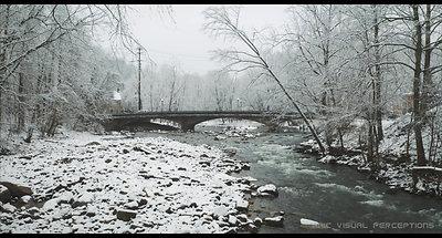 Snow Drift - Winter in the Ellicott City Historic District