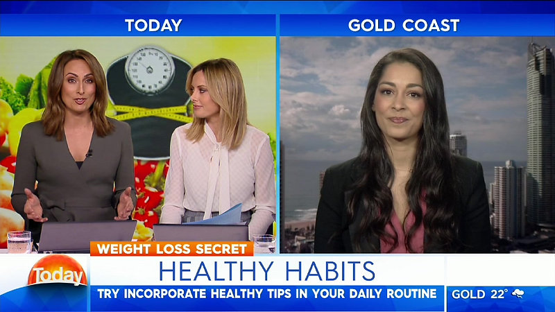 Healthy Habits on Weekend Today with Dr Gina Cleo
