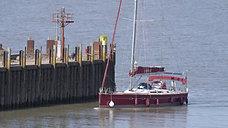 Zora arrives at Portishead Marina from Spain - HD 1080p 8.57min