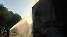 Brandhaus Übung