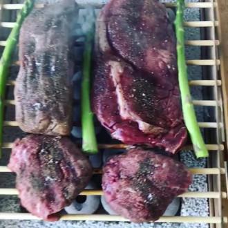 Amazing Steak Dinner on CasusGrill