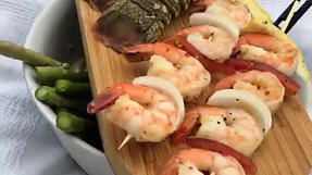 Seafood On CasusGrill