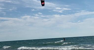 Kiteboarding Clip