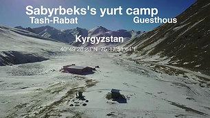 Sabyrbek's yurt camp