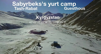 Sabyrbek's yurt camp