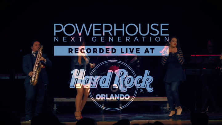 "Powerhouse Next Generation ""live"" at the  HARD ROCK ORLANDO"
