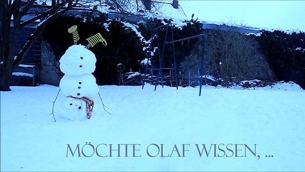 Schneemann Olaf