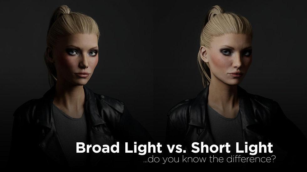 Broad Light vs. Short Light
