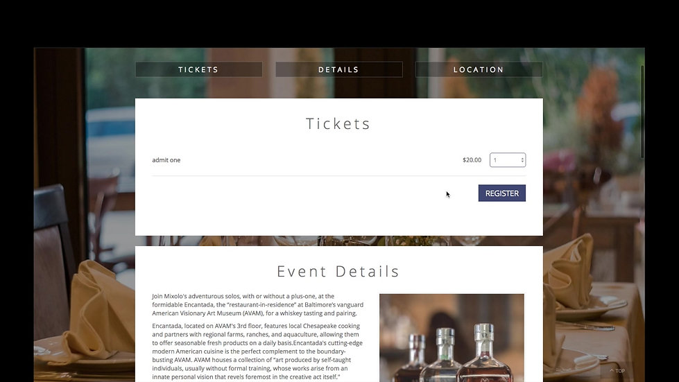 How To Sell Your Event Via The Web (6 of 6)
