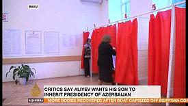 Interview with Al Jazeera on Azerbaijan Referendum