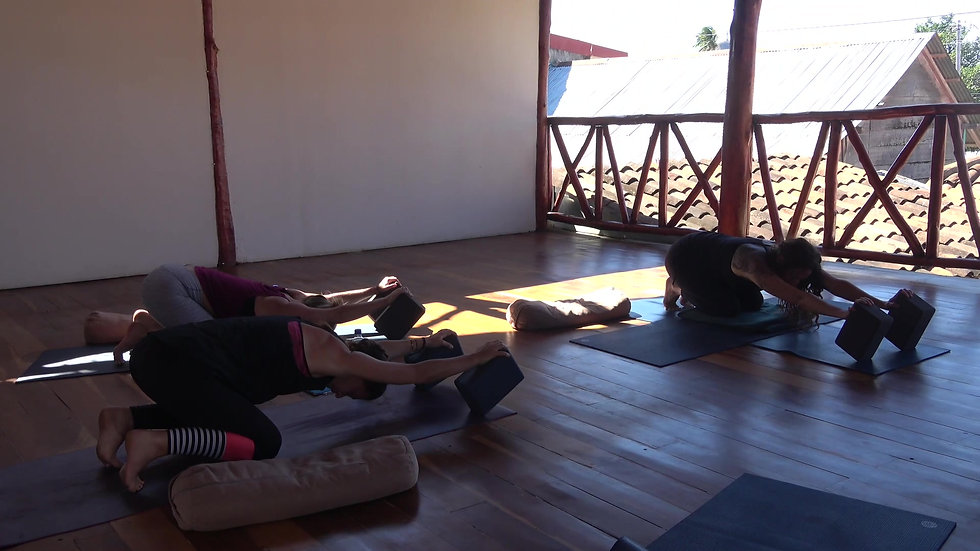 OYT Trainings For the NI Yoga Institute, SJDS, Nicaragua