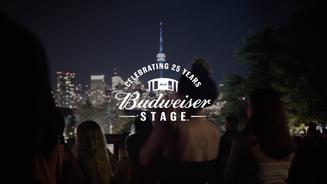 """BUDSTAGE"" Live Nation x Budweiser"