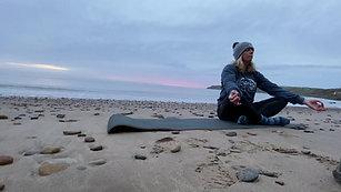 Mindful breathing Cayton Bay