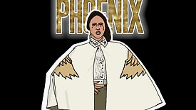 Glittered phonix