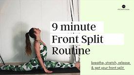 Front Split Routine AM Dance Studio