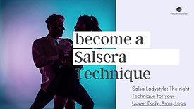 Become a Salsera Technique