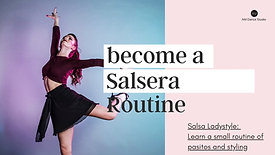 Salsa Ladystyle Routine