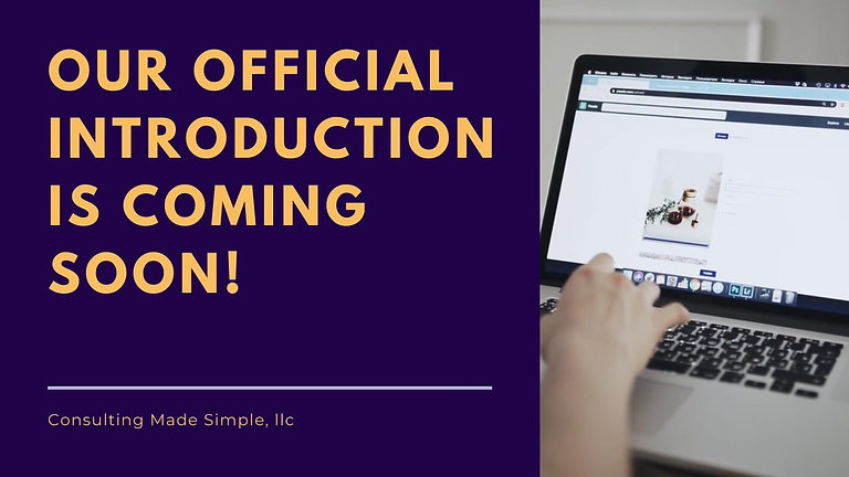 Our Official Introduction is Coming Soon!