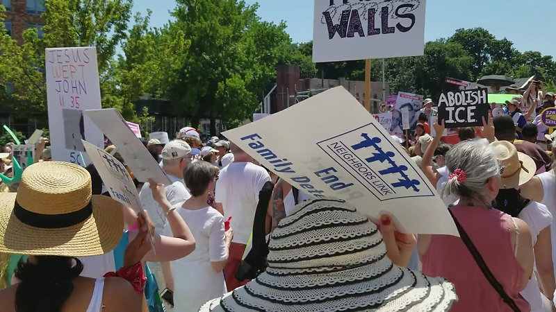 """Westchester """"Families Belong Together"""" Rally"""