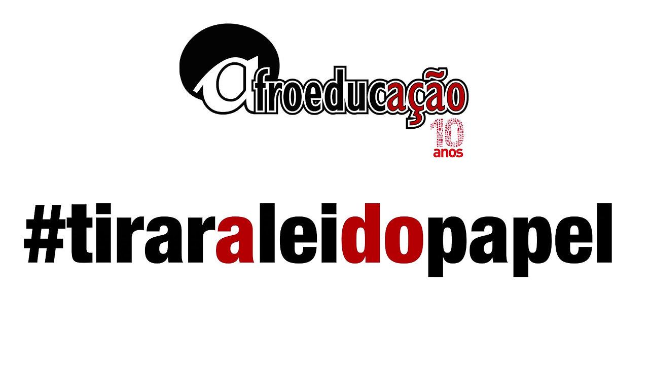 Campanha #tiraraleidopapel