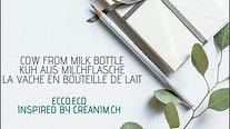 Cow from Milk Bottle ¦ Kuh aus Milchflasche ¦ La vache en boutelle de lait