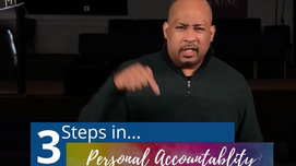 The Necessity of Personal Accountability
