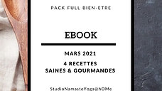 Ebook 4 recettes Mars 2021