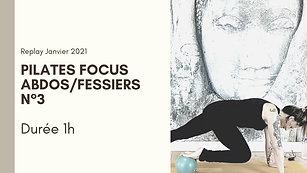 Pilates Focus Abdos/Fessiers N°3