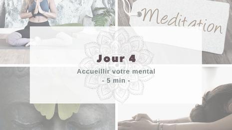 Programme Méditation Accueillir votre mental