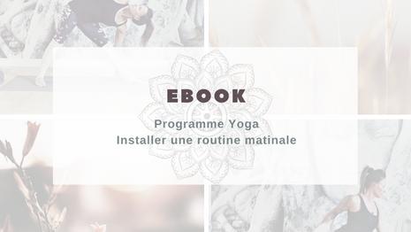 Ebook Installer une routine matinale
