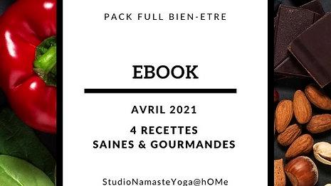 Ebook 4 recettes Avril 2021