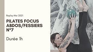 Pilates focus Abdos/Fessiers N°7