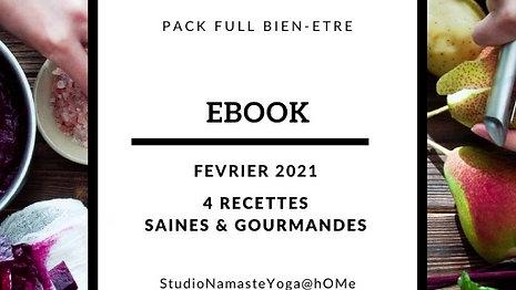 Ebook 4 recettes Février 2021