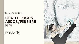 Pilates focus Abdos/Fessiers N°4