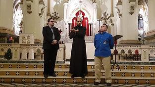 Lançamento do Homiliário na Igreja de N. Sra. Auxiliadora (SP)