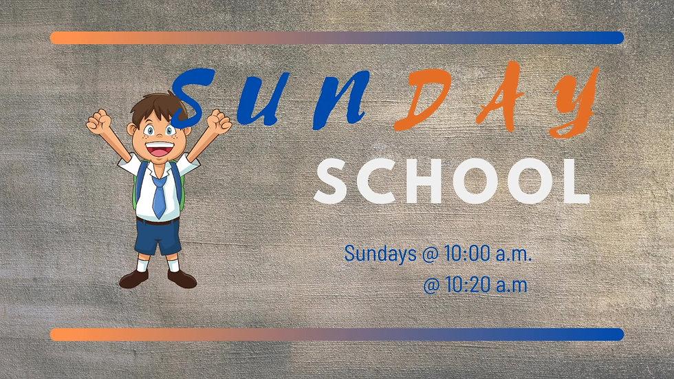 Kids Sunday School Livestream