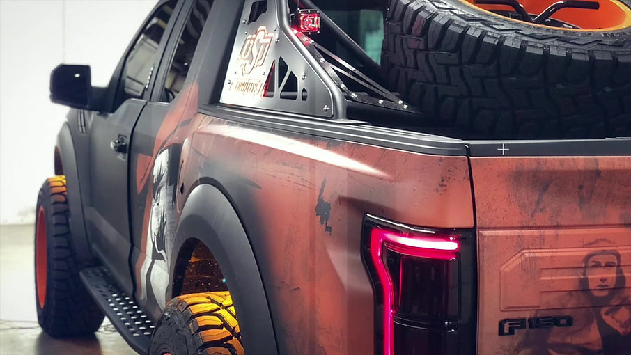 2018 Ford Raptor (OSU EDITION)