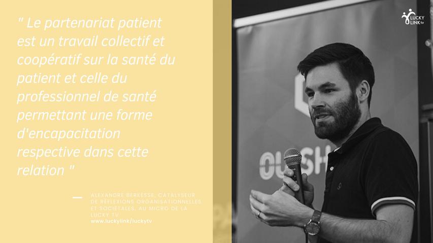 Interview Lucky TV : Alexandre Berkesse, Catalyseur de réflexions organisationnelles et sociétales