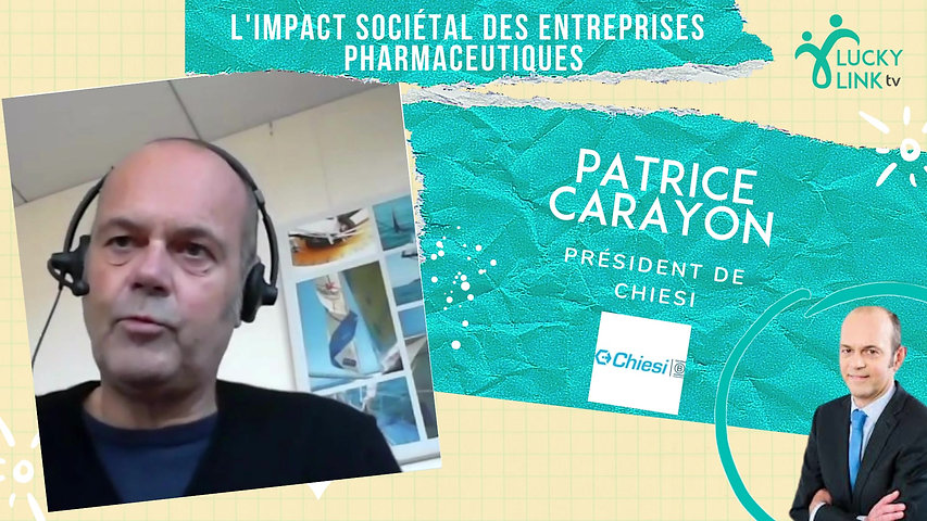 Teasing Patrice Carayon, Président de Chiesi France