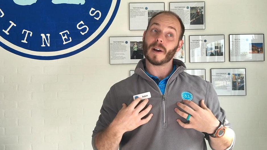 Intro Video for Website Adam Napper Trainer Allen Tx Gyms