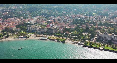Lake maggiore aerials