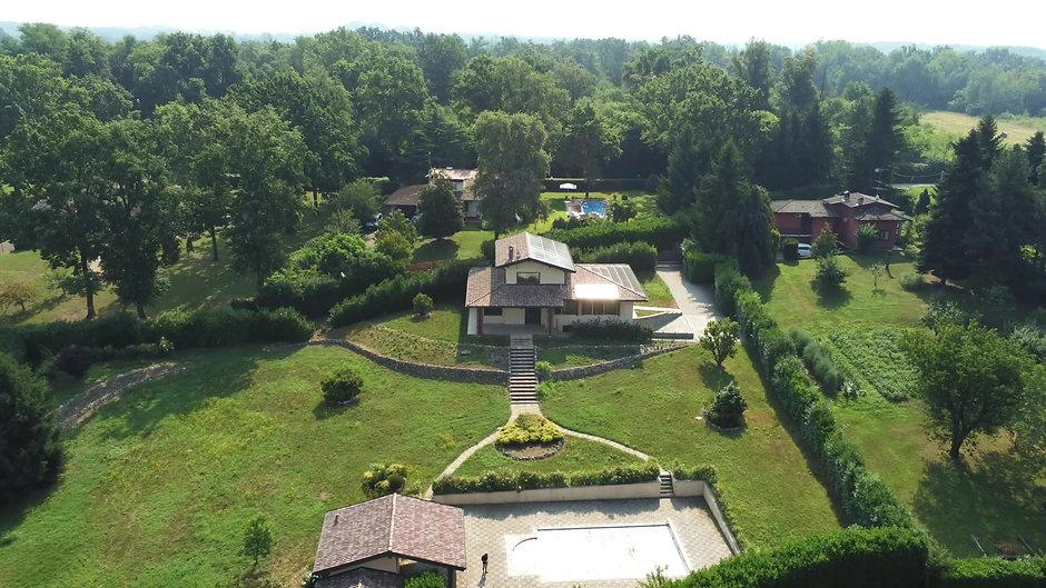 Luxury House Aerials