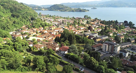 orta san giulio luxury house view