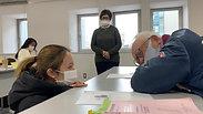 福岡県外国人介護職員介護技能等向上研修「利用者様への声かけ」