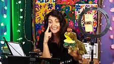 Lançamento do livro _O que é que o crocodilo come ao meio-dia_ de Clara Haddad com ilustrações de Só