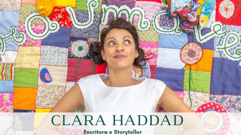 Encontro com as Histórias com Clara Haddad