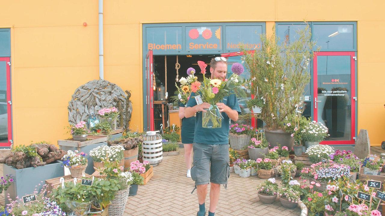 Supermarkt bloemen & planten. ZO KAN HET OOK!
