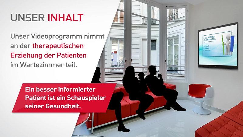 TV Wartezimmer - Visual Activ Der Spezialist für die TV Wartezimmer - Zahnarzt